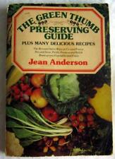 THE GREEN THUMB PRESERVING GUIDE ~ 1976 Book