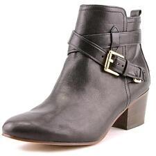 Coach Pauline Shiny Black Grain Leather BOOTIES Ankle BOOTS 8 M A4189 Macys