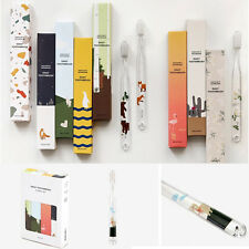 Daily Toothbrush 8PCS Package Set Animal Flower Design Cute Gift Oral Care