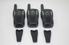 Lot of 3 Cobra Cxt195 16-Mile Gmrs Radio Two-Way Radio Walkie Talkies