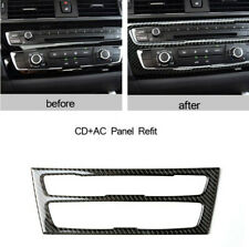 1PCS Carbon Fiber Car Air Condition Panel Cover Trim For BMW BMW F20 F21 1Series