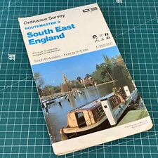 1998 Routemaster 9 South East England Ordnance Survey Map