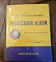 CatalinaStamps: Ambassador Album 1960 H.E. Harris w/4800 Stamps, Lot D31