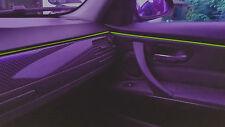 Neu Ambientebeleuchtung EL Lichtleisten Neon Innenraumbeleuchtung Limon 2m