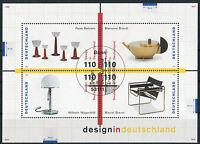 Bund Block 45 gestempelt ESST Bonn BRD 2001 - 2004 Design Deutschland used