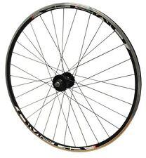 700c TRACK Bike Front Mach Omega Bolted Wheel Joytech Black Hub & Black Spokes