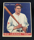 Joseph Cronin 1933 Goudey #63 Good-Very Good Range HOF Senators