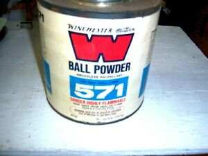 Antique Winchester-Western 571 Empty 3 LB Ball Powder Can