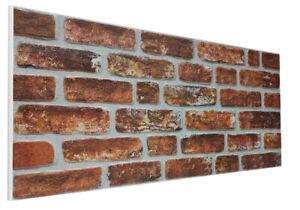 EPS Polystyrene 3D Wall Cladding Decorative Brick Effect Wall Panel DL-156