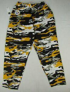 Pittsburgh Steelers NFL Zubaz Men's Camouflage Comfy Pants