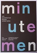Minutemen - Live in Houston 1984 - Concert Poster - 10x14