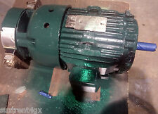 GE MOTORS 3-PHASE 1755RPM  7.5HP Motor with Lakeshore 8500 Tach RE3211 (MO015)
