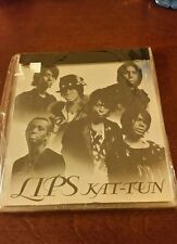 Kat-tun lips jpop Japan JP CD album jewel case kamenashi akanishi koki