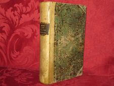 Libro 1840 Scene della Vita Italiana Joseph Méry Tradotte dal Francese da Rossi