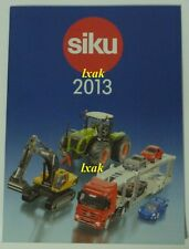 SIKU 2013 CATALOGUE SIKU SUPER FARMER CONTROL INTERNATIONAL NEW ITEMS 48 PAGES