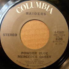 RAIDERS Powder Blue Mercedes Queen 45 Columbia label
