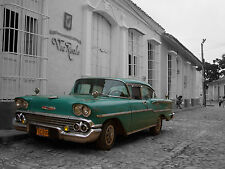 CUBA - CLASSIC VINTAGE CARS SHOTS - WOW!!!!! FACTOR WHEN FRAMED