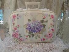 How to Paint Hydrangea Roses Bridal Traincase Suitcase Lesson on CD E103