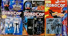 Toy Island ROBOCOP Lot of 3 different Special forces Glow and Machine gun MOC