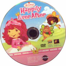 Strawberry Shortcake Happily Ever After (DVD 1998 Cookie Jar)