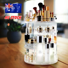360° Rotating Acrylic Makeup Organiser Storage Cosmetics Stand Holder Box Gift