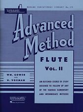Rubank Advanced Method – Flute Volume 2, Advanced Level, 80 Pages, 4470400