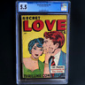 SECRET LOVE STORIES #nn (Fox Features 1949) 💥 CGC 5.5 💥 18 IN CENSUS! Giant