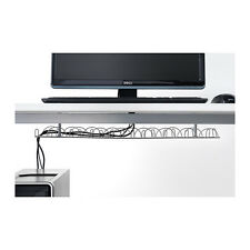 IKEA Cable Trunking Horizontal Wire Holder Under Desk Table Management  New