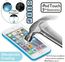 100% Genuine Tempered Glass 9H Screen Protector For Apple iPod Touch 5/ 5th Gen