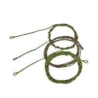 45lb Leadcore Leaders Looped Carp Fishing Tackle 2 Colours, 3 Length IY