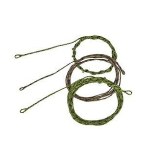 45lb Leadcore Leaders Looped Carp Fishing Tackle 2 Colours, 3 Length ODDE