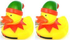 CHRISTMAS Rubber Duck Elves ~ Set of 2