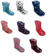 Girls Boys Infants Wellington Boots Wellies Rain & Snow UK3/EU19 UK4.5/EU21