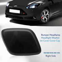 Tapa de Boquilla Lado Derecho chorro lavafaros para Ford Focus 2012-2014 Negro