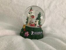 Michelin Man Musical Snow Globe Christmas