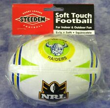 NRL CANBERRA RAIDERS Ball STEEDEN Mini Football - NEW!