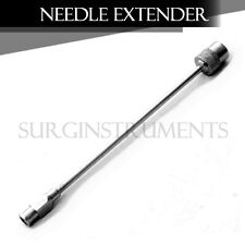 """3 Pieces Surgical Needle Extender 5"""" Stainless Steel Cervical Block Instruments"""