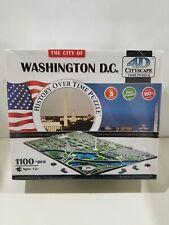 NEW 4D Cityscape Time Puzzle Washington DC Skyline 1100pcs 40018 In Sealed Box