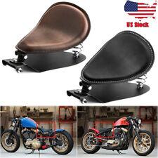 Motorcycle Solo Driver Seat Base Spring Bracket For Harley  Bobber Chopper