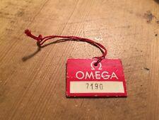 Vintage Takt Label - Etiqueta de reloj - Watch Tag - OMEGA - Reloj Watch Montre