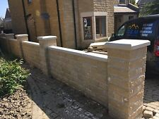 Cast stone pier caps (walling) 1.5 Brick X 1.5 Brick
