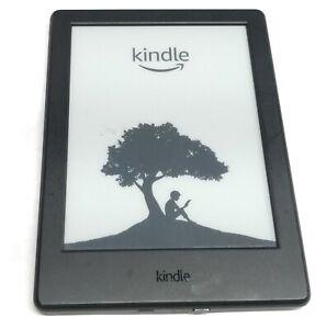 Amazon Kindle 4GB, Wi-Fi 6 inch - Black 8th Gen - SY69JL - Touchscreen Bluetooth