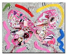 """""""Pink"""" Butterfly  Limited Edition Print on paper. Signed"""