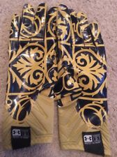 NEW 2014 TEAM ISSUED NOTRE DAME FOOTBALL SHAMROCK SERIES UNDER ARMOUR GLOVES 2XL