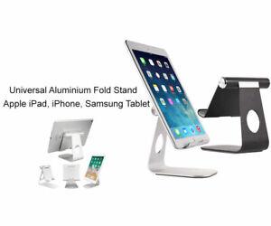 Adjustable Aluminum Phone Tablet Stand Holder Desktop For iPad Samsung Tablet