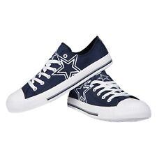 Dallas Cowboys Big Logo Low Top Sneakers Team Color Shoes US Men's Sizing