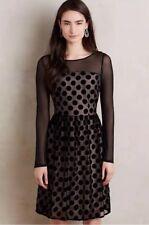 Anthropologie Dottie Dress By Sunday In Brooklyn Black Size 0/2