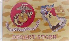 Operation Desert Storm USMC  US Marine Corps 5'x3' Flag