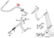 Genuine BMW E36 Cabrio Compact Coupe Sedan Accelerator Cable OEM 35411163228
