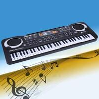61 Key Digital Music Electronic Keyboard Key Board Electric Piano Child Gift(EU)